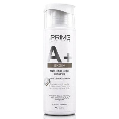 شامپو تقویت کننده و ضد ریزش مو پریم مدل +A