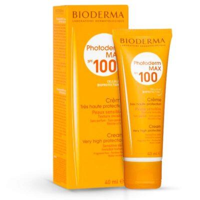 کرم ضد آفتاب بایودرما مدل Photoderm Max 100
