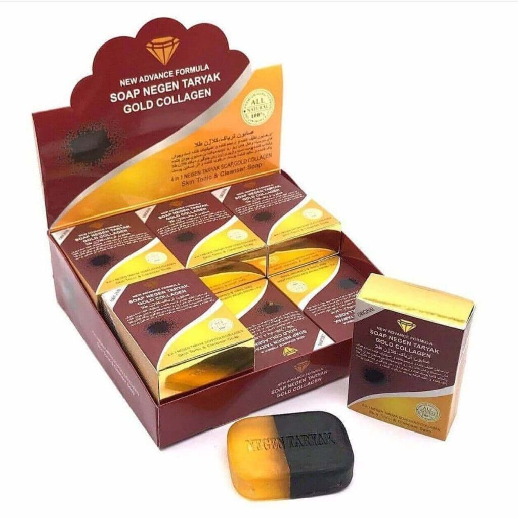 صابون تریاک کلاژن طلا اصل Soap Taryak