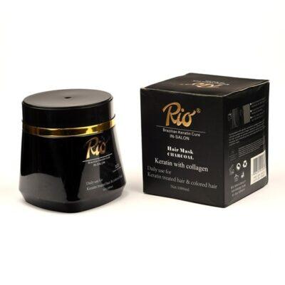 ماسک مو کراتینه زغال ریو Rio